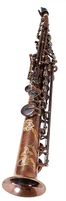 Saxo Soprano One Piece (curved neck)  System'54 Pure Brass