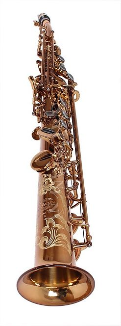 Saxo Soprano One Piece (curved neck)  System'54 Vintage Gold
